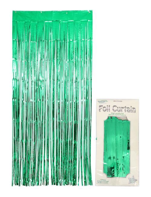 Foil Curtain Green